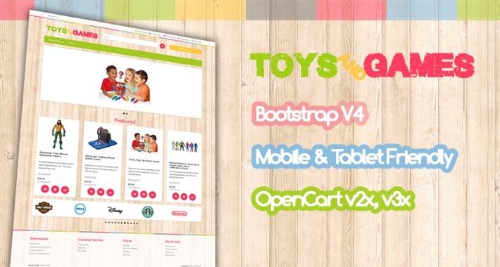 V3 Toys & Games Theme
