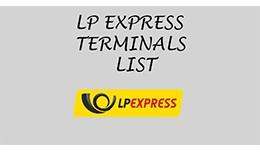 LP EXPRESS terminalai