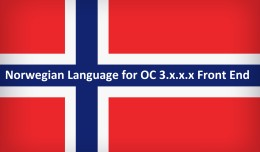 Norwegian Language for OC 3.x.x.x Front End