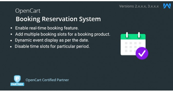 OpenCart - Opencart Booking and Reservation System