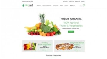 Mintleaf - Grocery Responsive OpenCart Theme