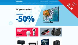 Blueberry - Electronics, Mobile, Toys - Responsi..