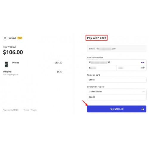 OpenCart - Opencart Stripe Payment Gateway