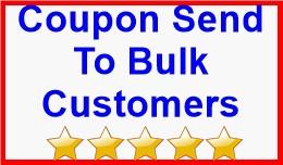 Coupon Send To Bulk Customers