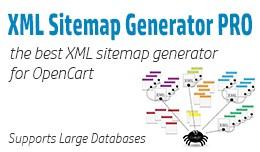 XML Sitemap Generator for OpenCart 1.5.x.x