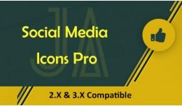 Jadeagile - Social Media Icons Pro