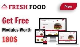 Food Shop - OpenCart 3 Multi-Purpose Theme