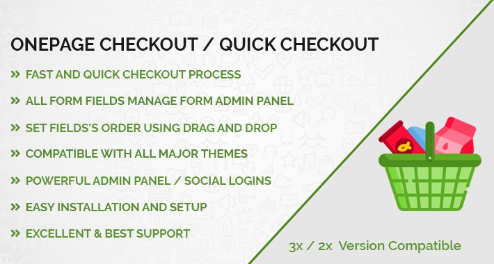 Onepage Checkout / Quick Checkout