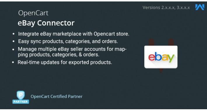 Opencart eBay Connector