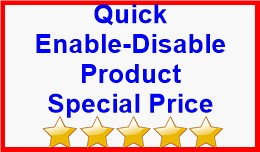 Quick Enable-Disable Product Special Price