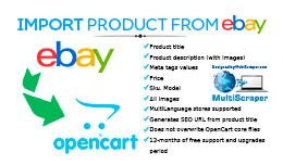 Import product from eBay