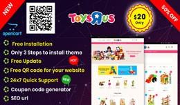 KidsToys Opencart 3.x Theme