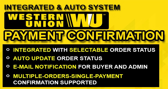 Western Union Payment Confirmation