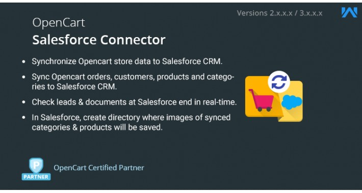 OpenCart - Opencart Salesforce Connector