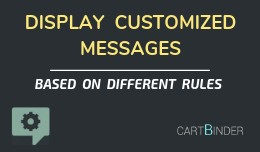 Customized Message Display : Based On Multiple R..