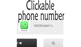 Make Phone Number Clickable + Unlimited length +..
