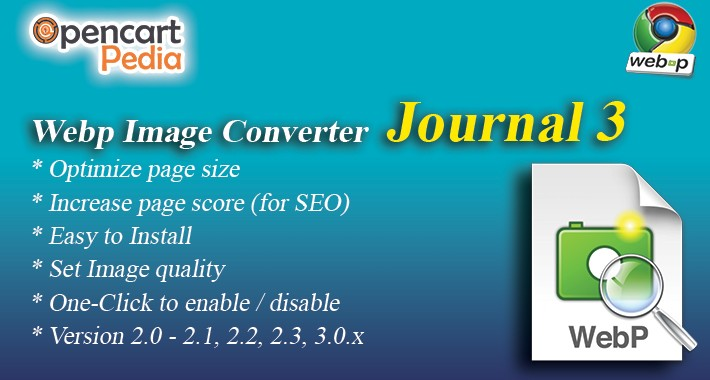 Opencart Journal 3 Documentation
