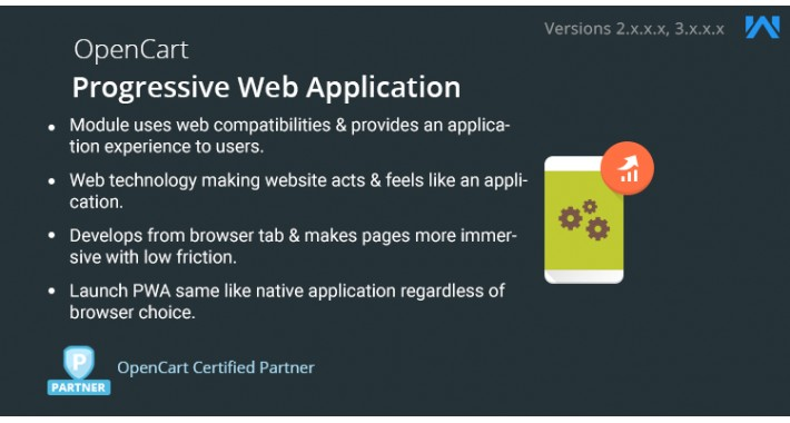 OpenCart - Opencart Progressive Web Application