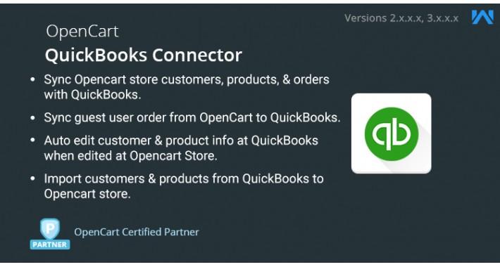 OpenCart - Opencart QuickBooks Connector