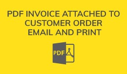 PDF Invoice Email And Print