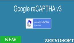 Google  Captcha V3 / ReCAPTCHA V3 (VQMOD / OCMOD)