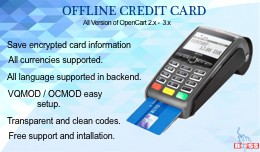 Offline CC (Credit/Debit) Card for Opencart 2.x ..