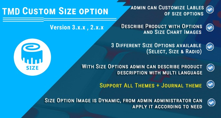 Custom Size option (1.5.x , 2.x & 3.x)(ocmod & vqmod)