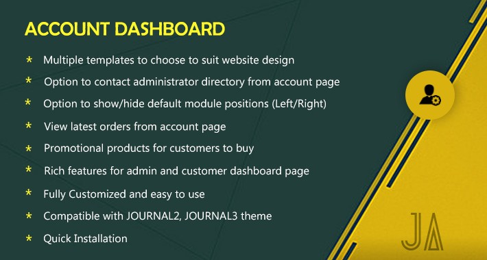 Jadeagile - Account Dashboard Pro