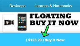 Floating Buy It Now Button on Bottom Of Screen