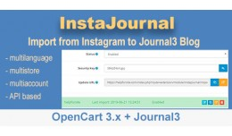 InstaJournal. Import from INstagram to Journal3 ..