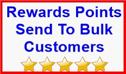 Rewards Points Send To Bulk Customers