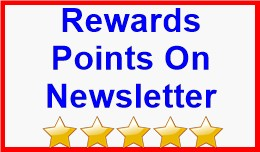 Rewards Points On Newsletter