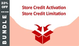 BUNDLE: Store Credit Activation and Limitation