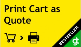 Print Cart as Quote - SALE 30% DISCOUNT
