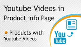 Youtube Videos in Product Info Page - SALE 30% D..