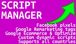 Script Manager Pro (Google, Facebook & Custo..