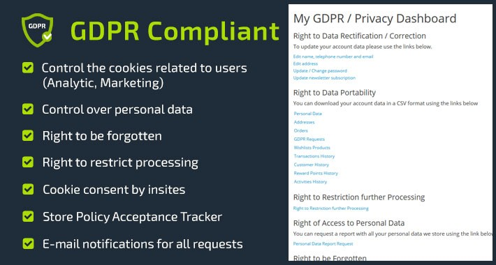GDPR Compliant - General Data Protection Regulation Compliant
