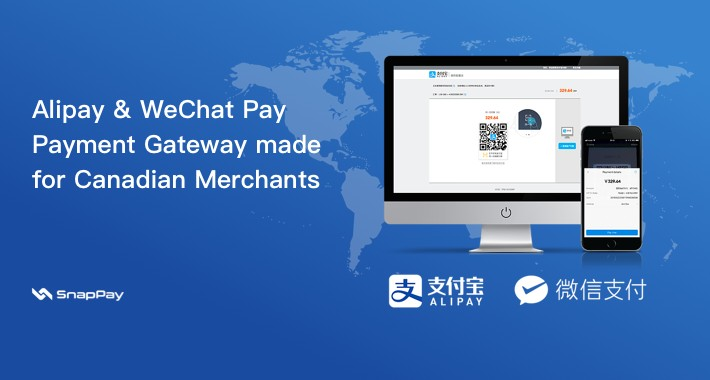 Payment Gateway for Alipay,WeChatPay and UnionPay-支付宝,微信,银联支付北美版