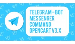 Telegram Chat / Bot for OpenCart V3.x