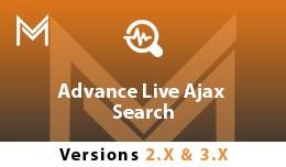 Advance Live Ajax Search