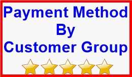 Payment Method By Customer Group