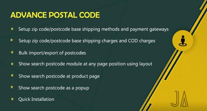Jadeagile - Advanced Postal Code Tool