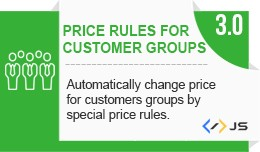 Customer groups prices (Auto price changer) / Pr..