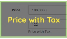 Input Price with Tax