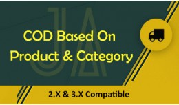 COD Based On Product & Category