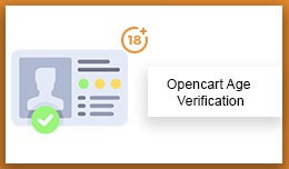 OpenCart Age Verification Extension