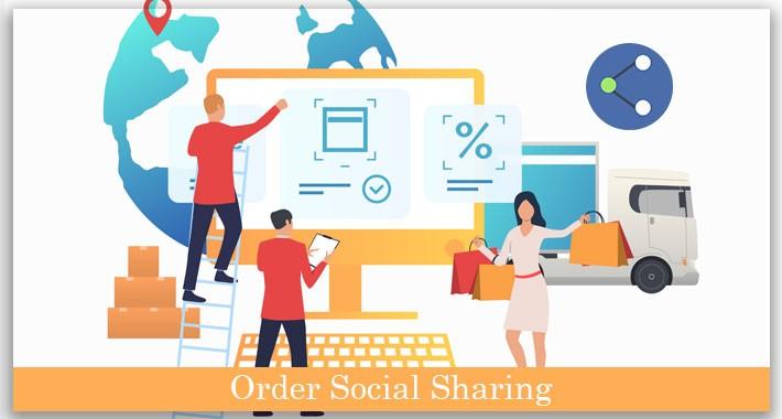 OpenCart Order Social Sharing Extension