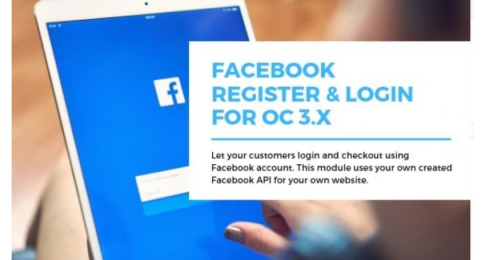 Facebook Login & Register OC3.X