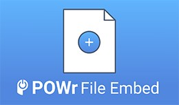 POWr File Embed