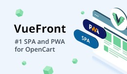 VueFront - Free SPA & PWA for OpenCart